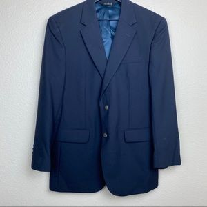 Jos A. Bank Navy Sports Coat